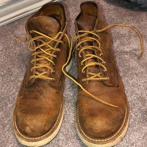 Genuine leather Red Wing Shoes boots (style 9111)